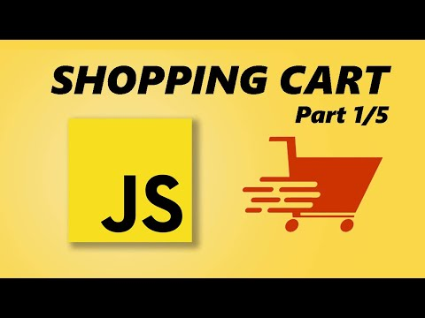 JavaScript Shopping Cart Tutorial - Part 1/5