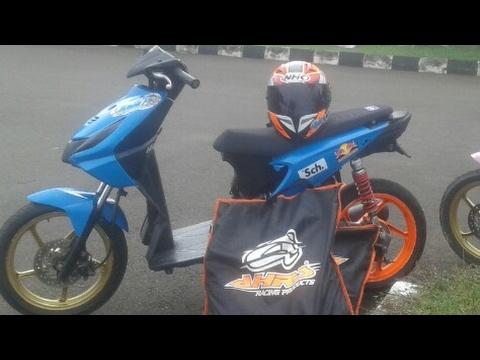 Modifikasi Honda Beat 130cc Road Race Youtube