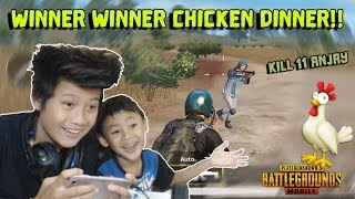 Main bareng adek = Auto chicken dinner - PUBG MOBILE