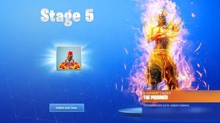 "How To Unlock ""STAGE 5 PRISONER SKIN"" KEY LOCATION in Fortnite Season 8! (Fortnite Stage 5 Prisoner)"
