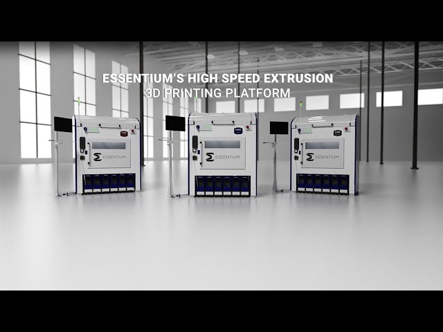 Essentium's HSE 180•S 3D Printer Series