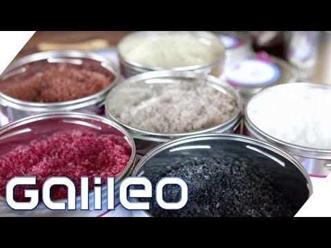Luxus und Gourmet Salze im Test   Galileo   ProSieben