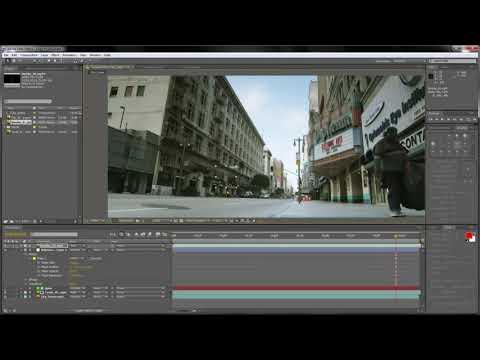 Как добавить эффект огня дыма и света от огня в любую часть видео с помощью Adobe After Effects