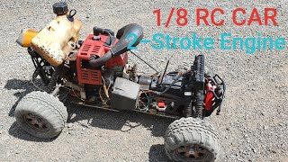 1/8 RC Car Build with 2-Stroke Engine
