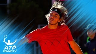 Garcia-Lopez, Paire, Tsitsipas reach second round   Barcelona Open 2018 Day 1 Highlights