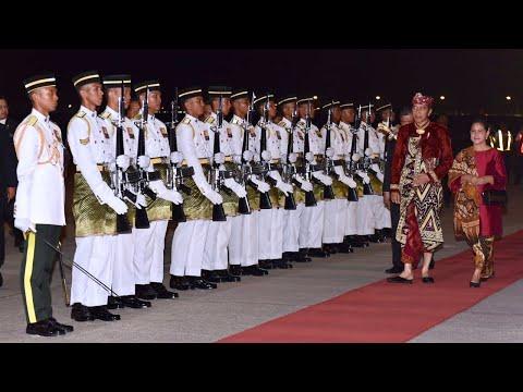 Kedatangan Presiden RI dan Rombongan di Malaysia dalam rangka Kunjungan Kenegaraan, 8 Agustus 2019