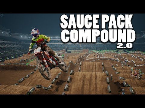 Sauce pack Compound 2.0 - Monster Energy Supercross The Official Videogame
