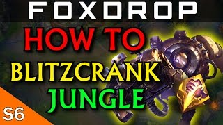 Blitzcrank Jungle New Meta?? - League of Legends