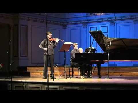 Anders Nilsson: Violin sonata 2nd mov.