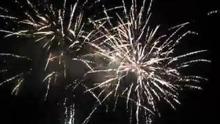 First Fireworks Show