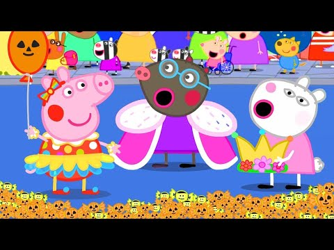 Peppa Pig Official Channel 🎃Dress Up As A Queen At The Carnival!   Halloween Special 🎃