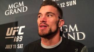 Brandon Thatch Predicts Finish in Gunnar Nelson Matchup