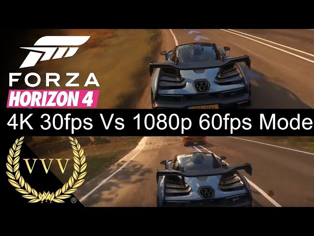 Comparing Forza Horizon 4 across PC, Xbox One & Xbox One X