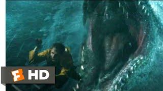 Jurassic World: Fallen Kingdom (2018) - Mosasaurus Attack Scene (1/10)   Jurassic Park Fansite Thumb