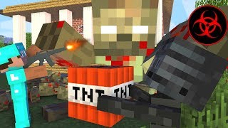 Monster School : FUNNY ZOMBIE APOCALYPSE - Minecraft Animation