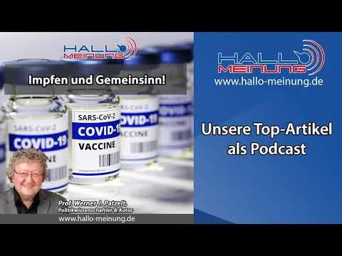 """Podcast: """"Impfen und Gemeinsinn!"""""""