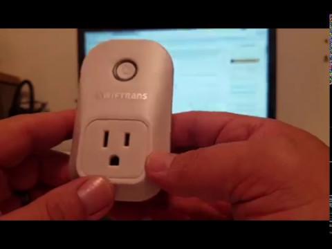 Wifi Smart Plug, Swiftrans Wireless Switch Works with Amazon Alexa