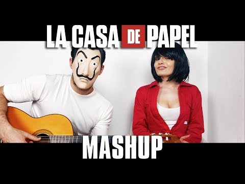 🎭 LA CASA DE PAPEL  - Mashup My Life is Going On e Bella Ciao 🎭   MARYNA