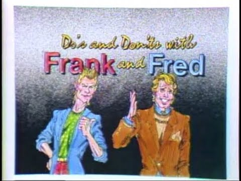 Frank and Fred Do's and Don'ts Collection on Late Night, 198286
