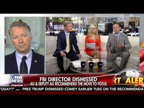 Sen. Rand Paul on Comey, Surveillance, and Health Care - May 10, 2017