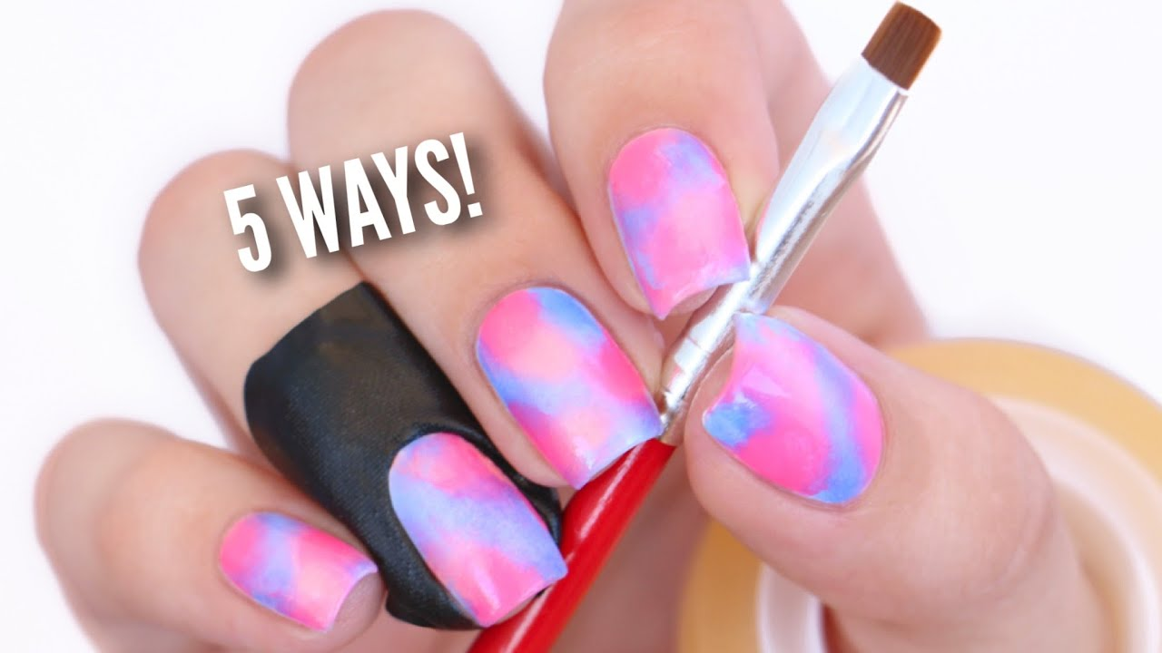 5 Ways To Clean Up Your Nails Perfectly! - YouTube