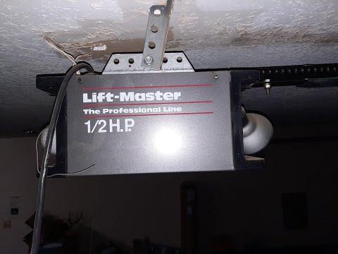 Lift Master Garage Door Opener Fixed