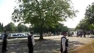 hyde park water fight riot with police involved