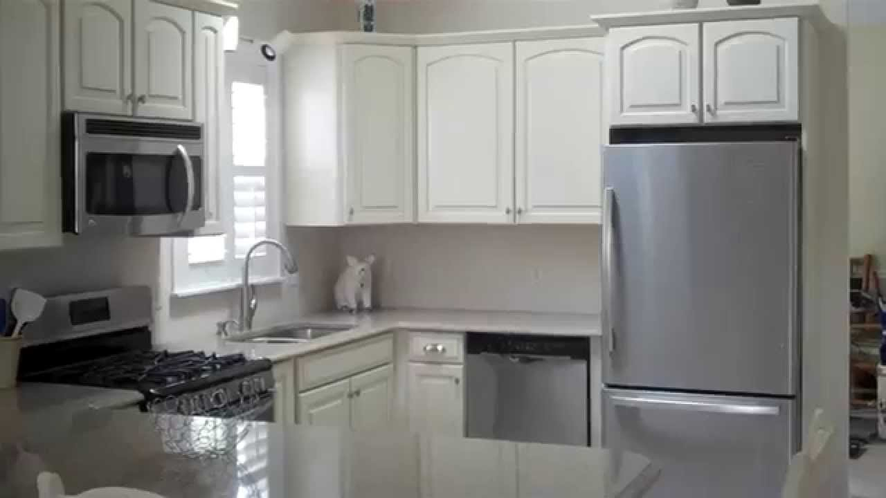 lowes kitchen remodel. lg viatera quartz & shenandoah cabinets - youtube