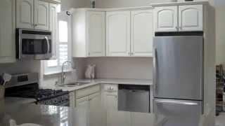 Lowes Kitchen Remodel. Lg Viatera Quartz & Shenandoah Cabinets