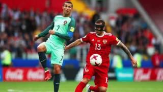 cristiano ronaldo le da primera victoria a portugal en la copa confederaciones