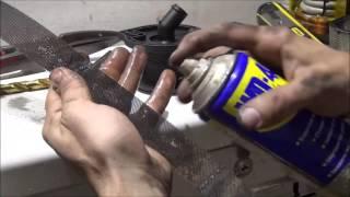 Audi A4 clogged breather rebuilding   Reconstruction reniflard H S