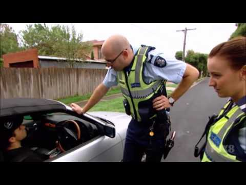 P-Plater Speeds In Front Of Police After Receiving A Ticket! (Highway Patrol Australia)