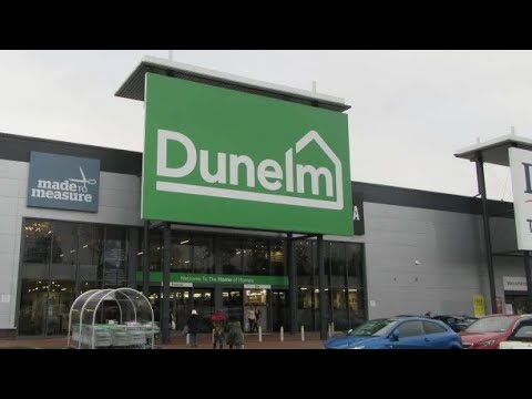 Shopping At Dunelm In UK