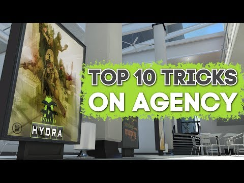 Top 10 Tricks on AGENCY ★ CS:GO [Operation HYDRA]