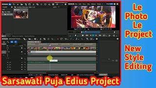 Le Photo Le Edius Free Project Download !! New Style Editing Sarsawati Puja