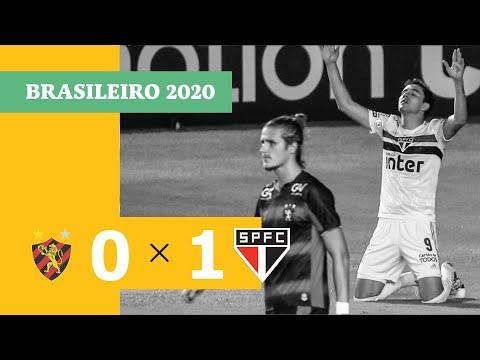 Sport 0 x 1 São Paulo - Gol - 23/08 - Brasileirão 2020