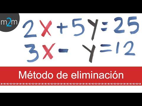 Sistemas de ecuaciones 3x3│método de eliminación