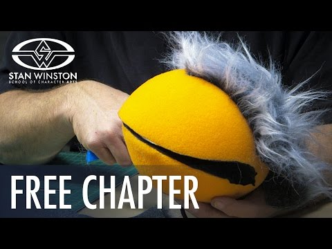 How to Make a Foam Puppet: Adding Hair to Puppets - FREE CHAPTER