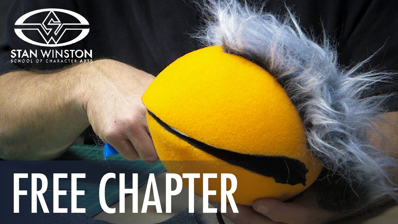 how to make a puppet out of foam