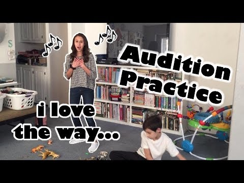 Audition Practice - Brooklyn Noelle - I Love The Way from Something Rotten