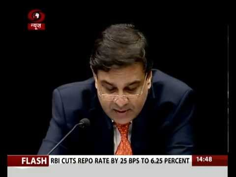 Press briefing by RBI governor Urjit Patel on new monetary policy