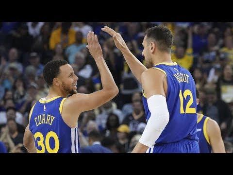 Warriors Blowout Hornets By 47! Make 21 3s! 2018-19 NBA Season