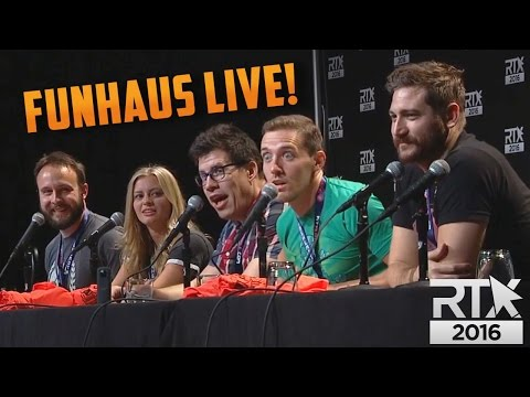 SOCIALLY AWKWARD...LIVE! - Funhaus Panel at RTX 2016
