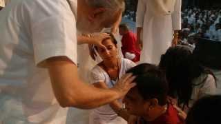 Sannyas Celebration Haridwar Camp, India, First Day