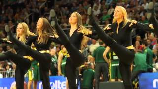 Zalgiris Kaunas cheerleaders (Efes Euroleague Dance Challenge 2015)
