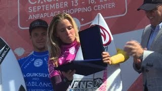 Morocco hosts its first women's surf competiion