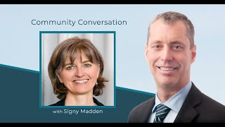 Community Conversation: Signy Madden & Paul Manly