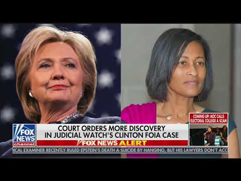 Judge orders more discovery in Clinton emails FOIA case