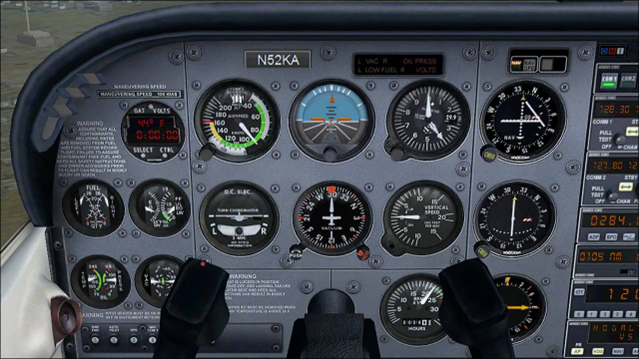 Cessna 172 Dashboard Diagram Cruise Control Wiring Chevrolet The Flight Panel Understand Your Aircraft Youtube