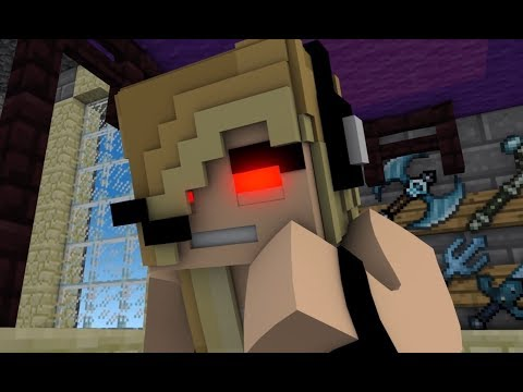 NEW Minecraft Song Psycho Girl 14- Psycho Girl Song - Minecraft Animation Music Video Series thumbnail